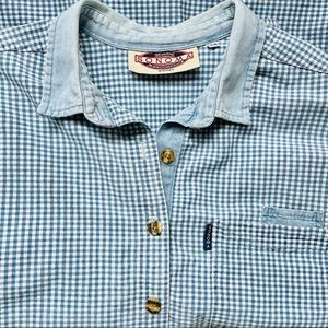 SONOMA WOMAN'S BUTTON DOWN COTTON OVERSIZED